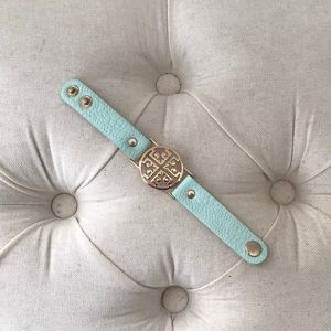 Jewelry - Tiffany Blue and Gold Bracelet